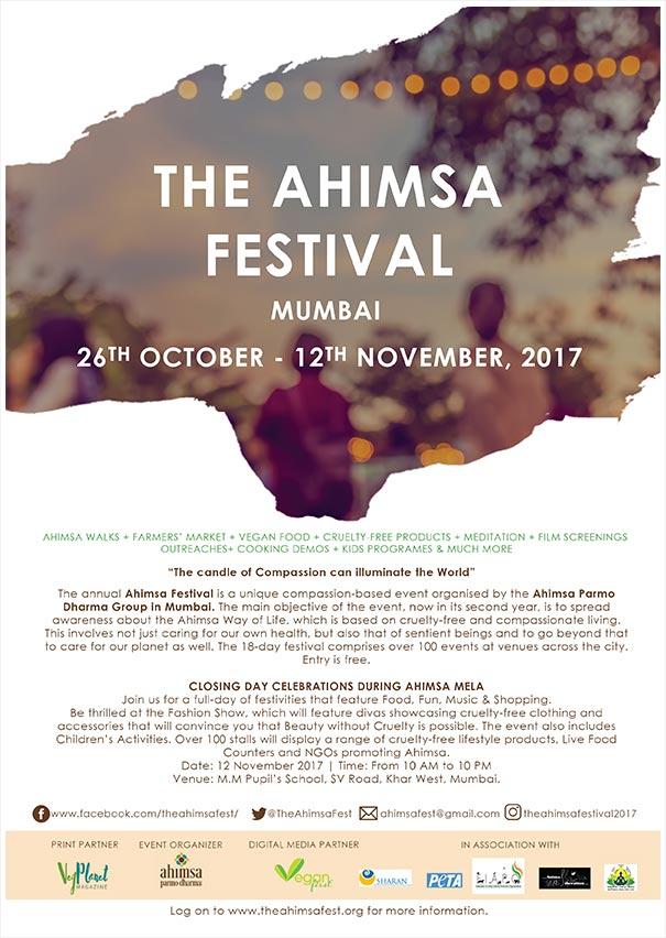 The Ahimsa Festival 2017 eBrochure